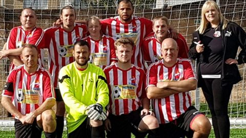 Swale Tigers football team - part of the Live Well Kent health network